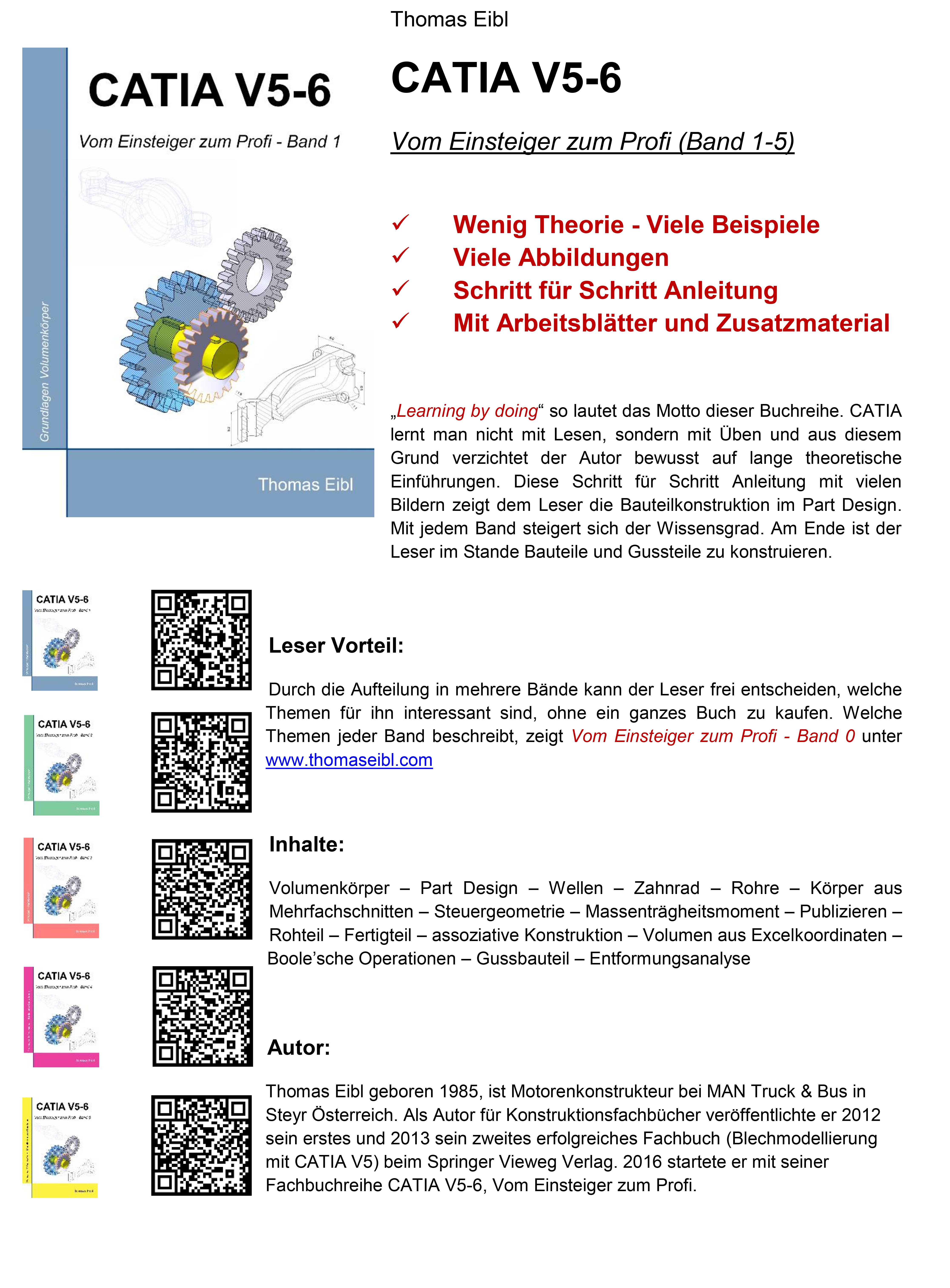 CAD Bereich - Thomas Eibl - Buchautor